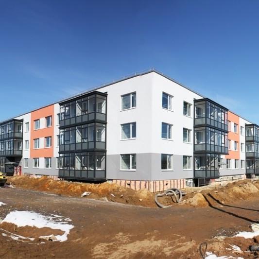 Елки Вилладж готовность домов апрель 2017