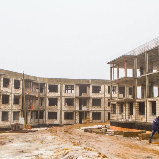 ЖК Yolkki Village, строительная готовность март 2016
